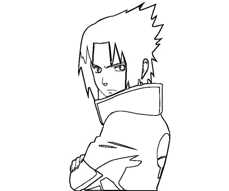sasuke uchiha coloring pages - photo#4
