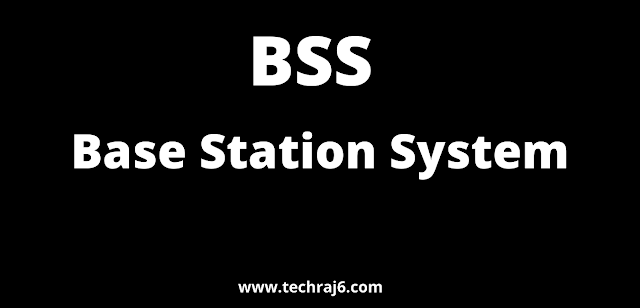BSS full form, What is the full form of BSS