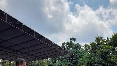Pemerintah Kabupaten Pelalawan Serahkan Secara Simbolis BLT Provinsi dan Kabupaten Pelalawan Di Kecamatan Bunut