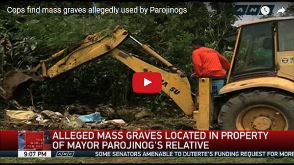 BREAKING NEWS   Natagpuang mga naaagnas na bangkay ng Bikitima umano sa pagpatay ng mga Parojinog