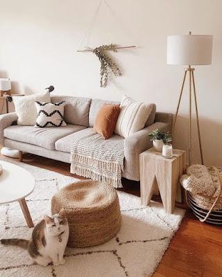 Decoração inverno: como usar mantas na decoração da sala