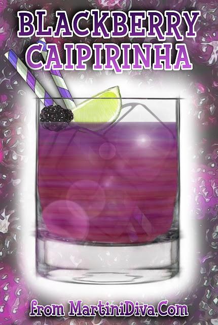 Blackberry Caipirinha Cocktail Recipe