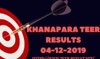 Khanapara Teer Results Today-04-12-2019