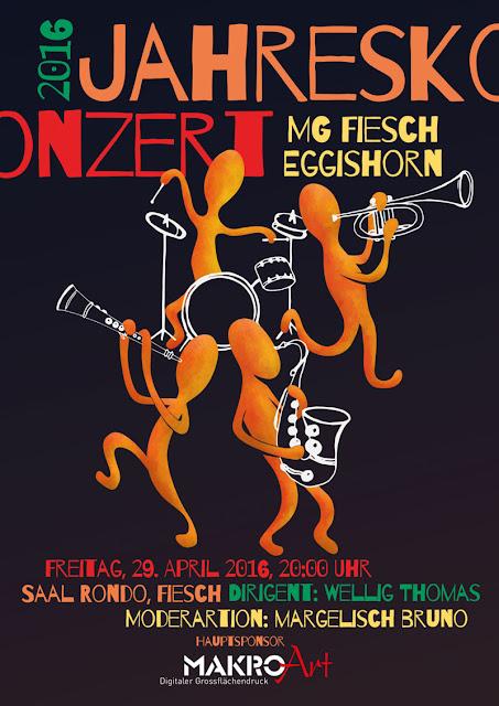 Musikgesellschaft MGFE Fiesch EGGISHORN Konzert Haus Rondo Fiesch