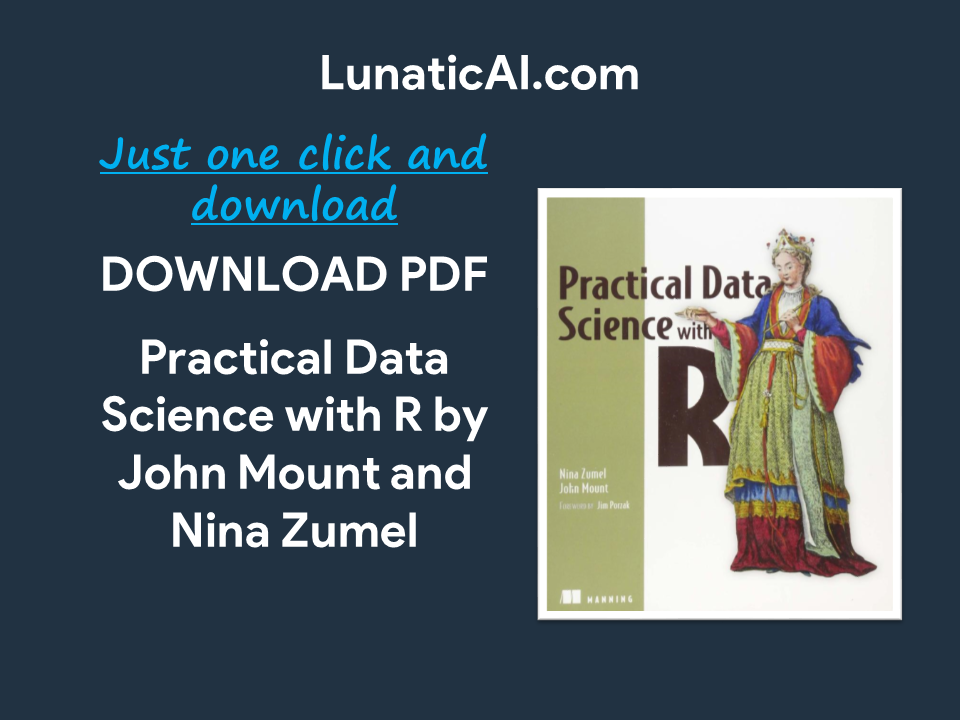Practical Data Science with R PDF