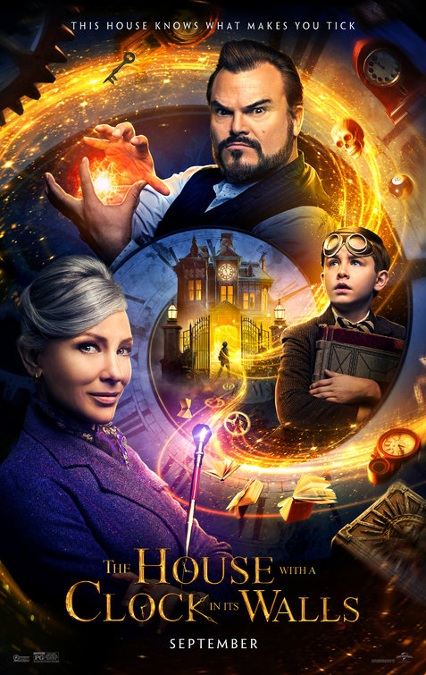 House with a Clock in its Walls movie poster