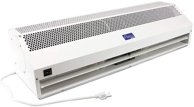 "Awoco 36"" Super Power 2 Speeds 1200CFM Commercial Indoor Air Curtain, UL Certified, whirlpool best AC"