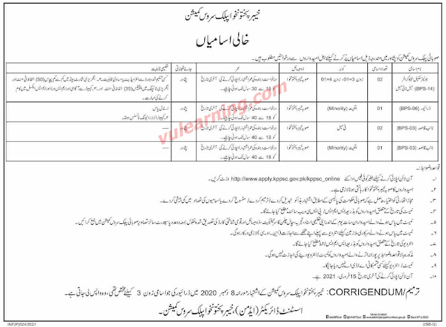 KPPSC Jobs 2021 Apply Online for 6+ Jr Scale Stenographer, Naib Qasid & Driver Latest