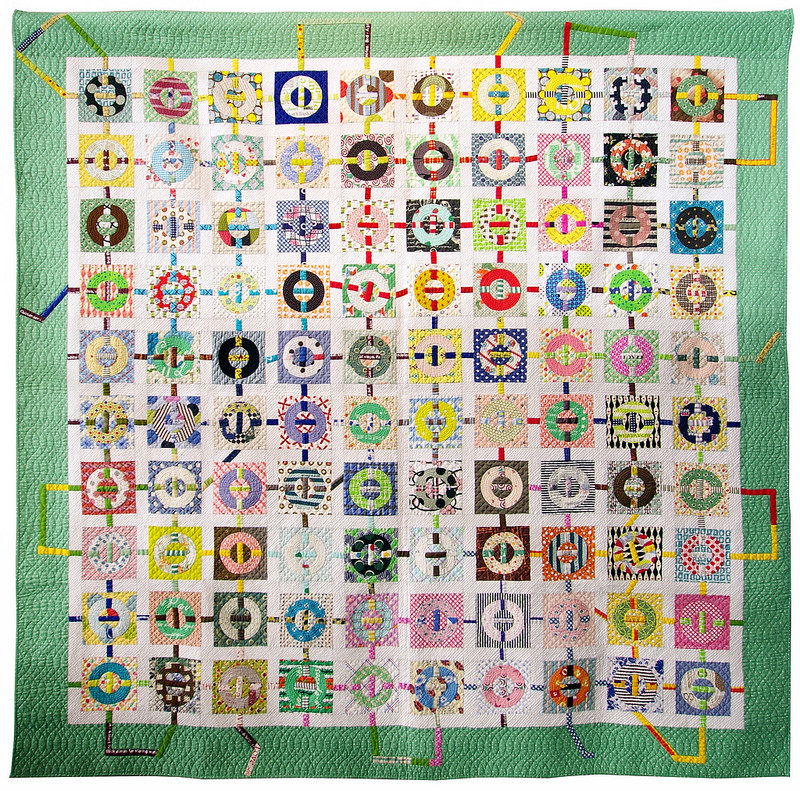 Connection by Sano Junko | Tokyo Quilt Festival 2018 | © Red Pepper Quilts 2018