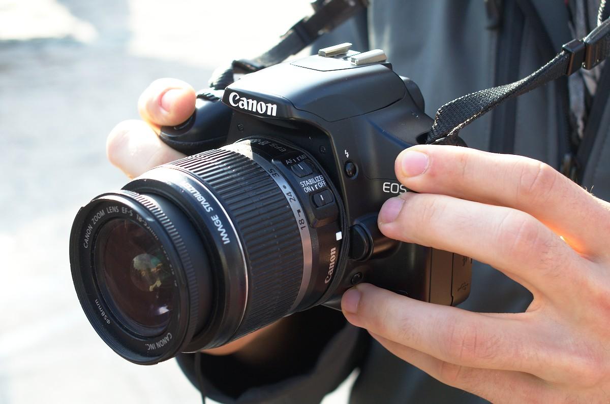 Kamera DSLR Canon 450D