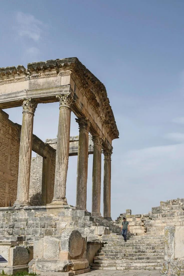 لماذا تزور تونس؟ من أجل الآثار الرومانية الملحمية