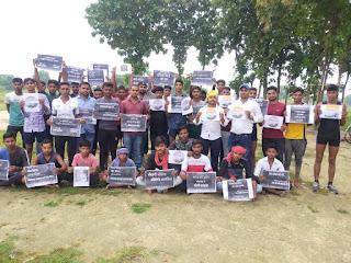 सरकार की गलत नीतियों की वजह से सड़क पर उतरा बेरोजगार युवा : राज यादव | #NayaSaberaNetwork