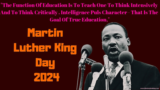 Martin Luther King Day in 2024