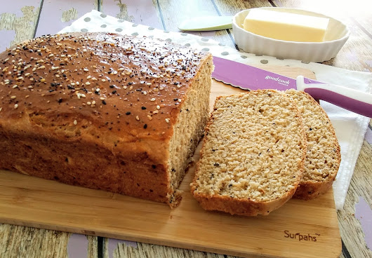 EVERYTHING SPICE PROTEIN BREAD