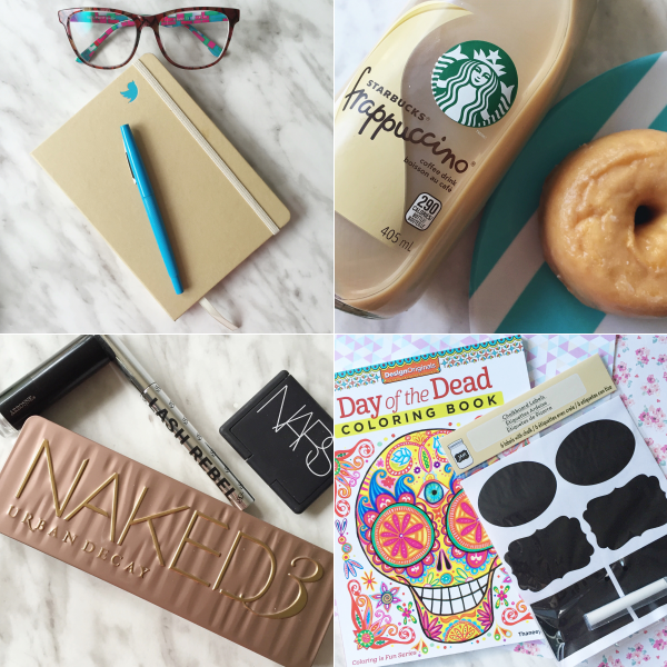 bbloggers, bbloggersca, instagram, canada, glassesshop, starbucks, makeup, sephora, adult coloring book