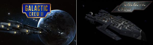 Comparison of Galactic Crew II vs Galactic Crew
