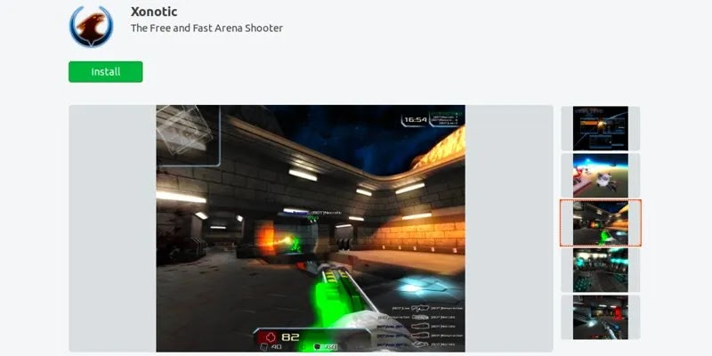 أفضل ألعاب ubuntu-snap-store-xonotic