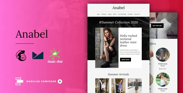 Anabel - E-commerce Responsive Email Template