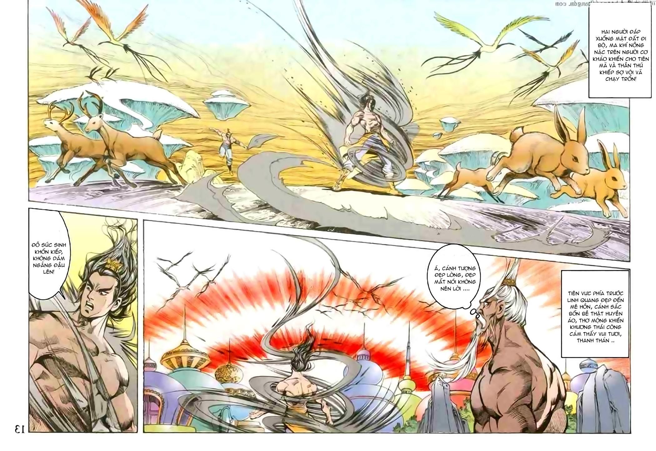 Cơ Phát Khai Chu Bản chapter 103 trang 13