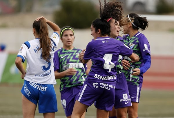 El Málaga Femenino suma un punto a última hora ante el Granadilla Tenerife B (1-1)