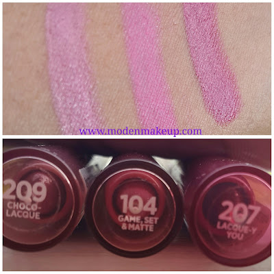 L'Oreal Colour Riche La Lacque and Le Matte Lip Pens www.modenmakeup.com