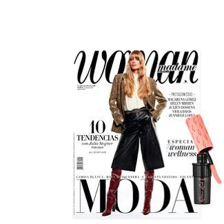 Revista Woman noviembre 2019 y regalo mascara pestañas benefit