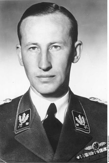 Reinhard Heydrich, 29 January 1942 worldwartwo.filminspector.com