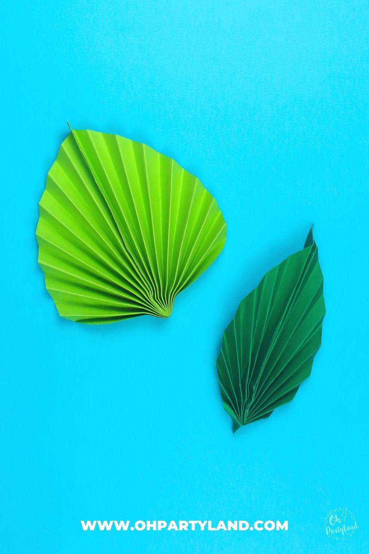 diy-paper-leaves