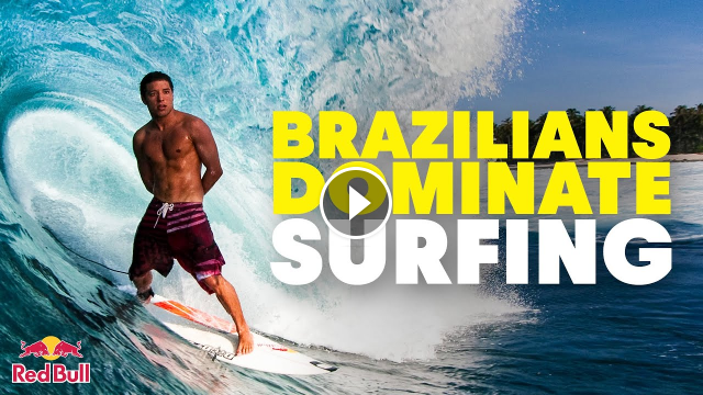 Why do Brazilians Dominate the World of Surfing