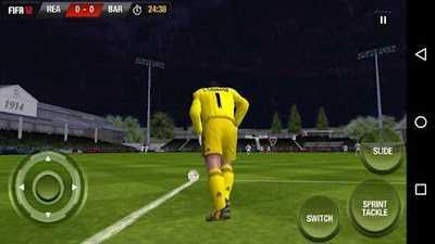 تحميل لعبة كرة القدم فيفا FIFA 12 الرسمية احدث اصدار للاندرويد