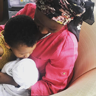 Female Singer, Dija Welcomes Her Second Child