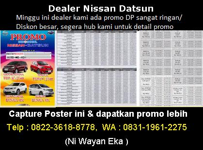 Brosur Kredit Mobil Nissan Bali