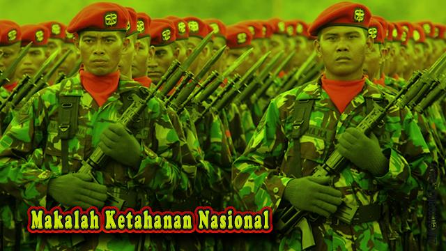 Makalah Ketahanan Nasional