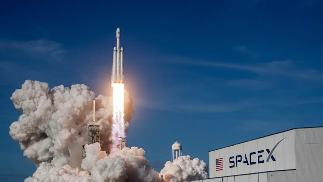 SpaceX takes nearly 88 satellites into space with it