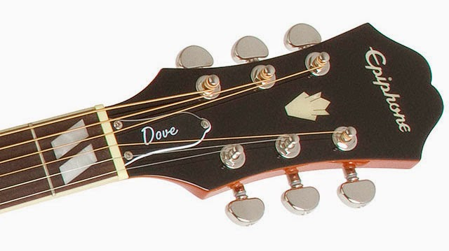 rex and the bass epiphone dove acoustic electric guitar review. Black Bedroom Furniture Sets. Home Design Ideas