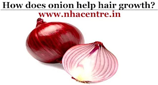 onion promote hair growth