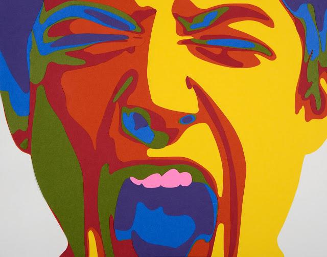 Rankin Willard art, a screaming man
