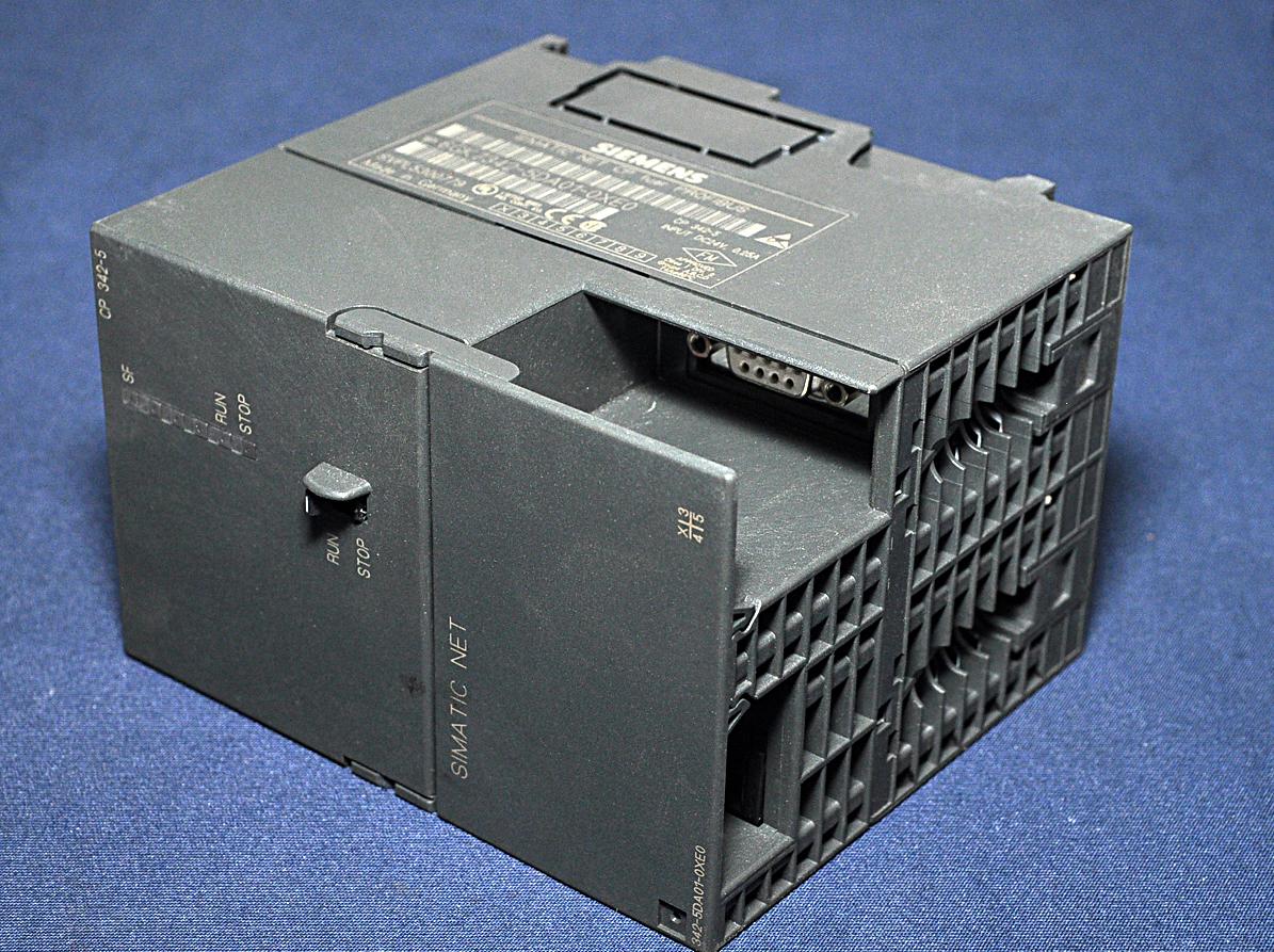 CP 342-5 procesador de comunicación Siemens Simatic net 6gk7342-5da01-0xe0
