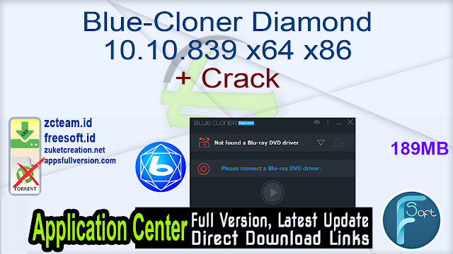 Blue-Cloner Diamond 10.10.839 x64 x86 + Crack_ ZcTeam.id
