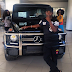 Ini Edo Buys a Brand New 2014 G-Wagon for N38m: Photo