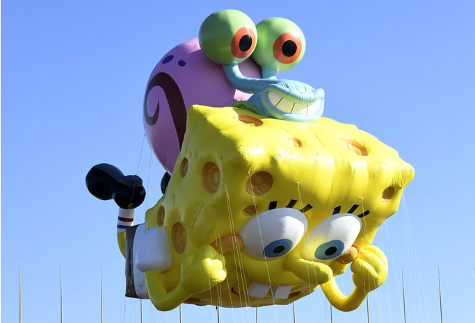 NickALive!: Nickelodeon Balloons and Floats to Take Center Stage at 94th  Annual Macy's Thanksgiving Day Parade