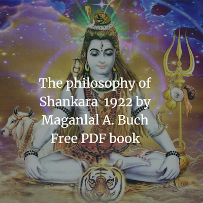 The philosophy of Shankara  1922