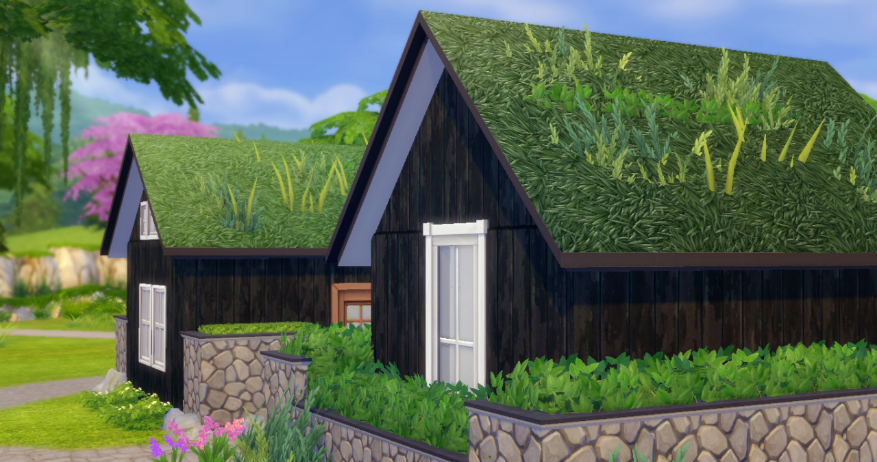 My Sims 4 Blog Sod Roof By Javabeandreams
