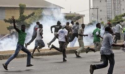 boko haram attack  yobe town hilux vans