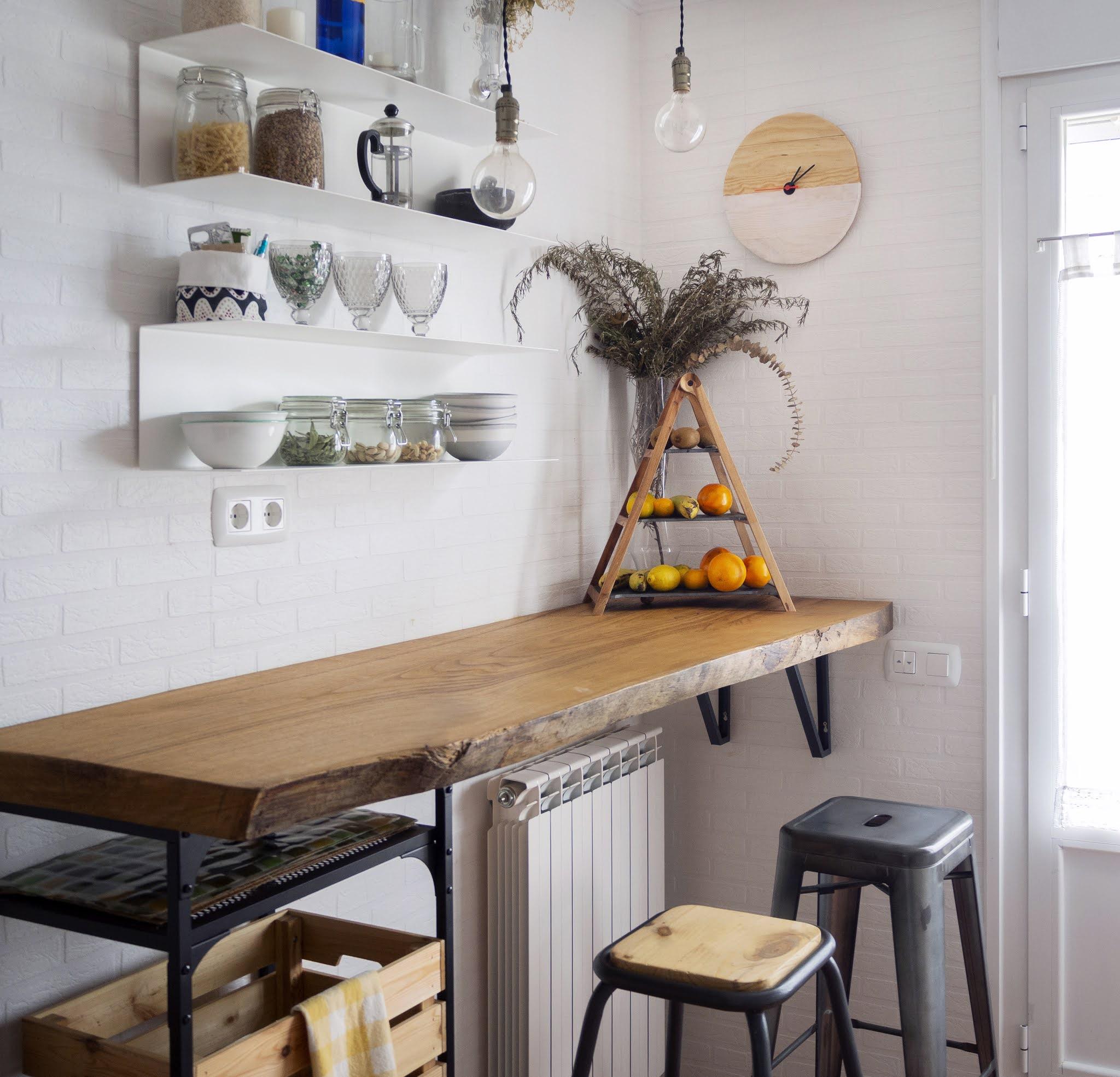 DIY Reloj de madera para nuestra cocina_Decorar en familia4