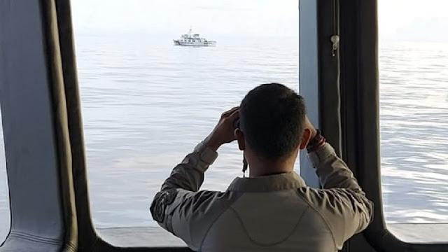 Usai Ngotot Bertahan, Begini Detik-detik Kapal China Diusir Keluar Zona Ekonomi Eksklusif Indonesia