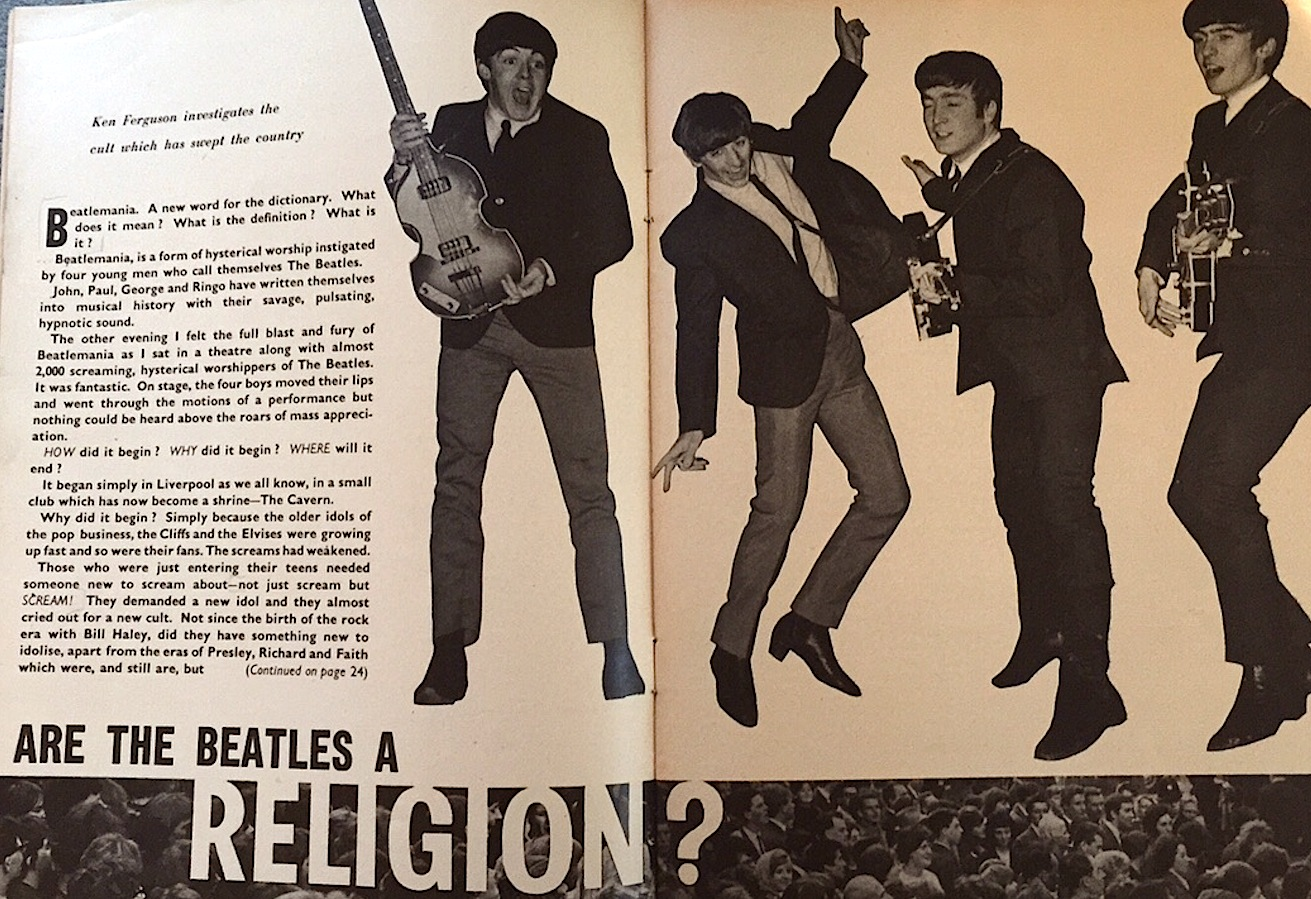 Beatles mother mary