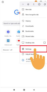 enable location in chrome mobile