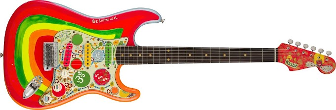 ジョージ・ハリスンの「Rocky」を再現したギター248万円で発売