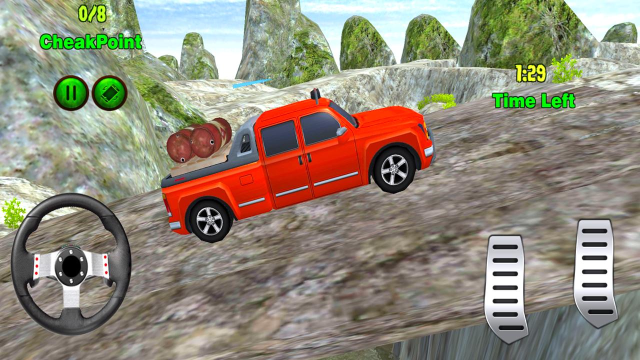 Offroad Mountain Pickup Truck Driving Simulator - APK ...